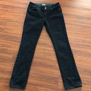 Paige Premium Black Denim Jeans - Size 30